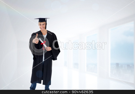 904462635-Composite-image-of-happy-teen-guy-celebrating-graduation